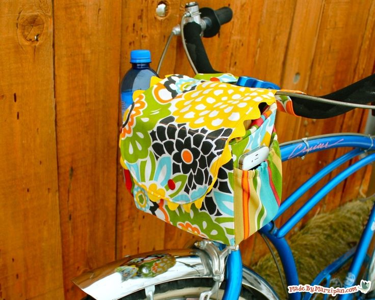 Make your own cycle bagSac Velo, Sewing, Bicycles Bags, Bags Tutorials, Free Pattern, Bikes Bags, Cycling Satchel, Bags Pattern, Adorable Bags