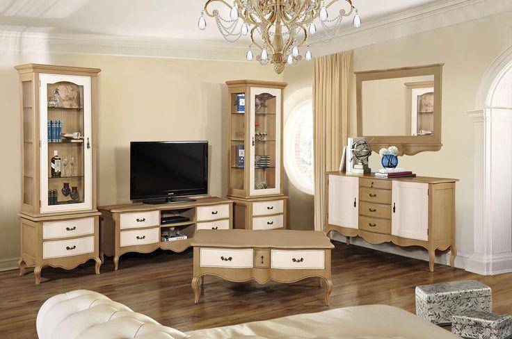 Familia de mobila pentru living Odette primeste o noua infatisare, multumita acestei noi combinatii de finisaje (blanc patine si cappuccino). http://www.retroboutique.ro/mobilier-epoque/