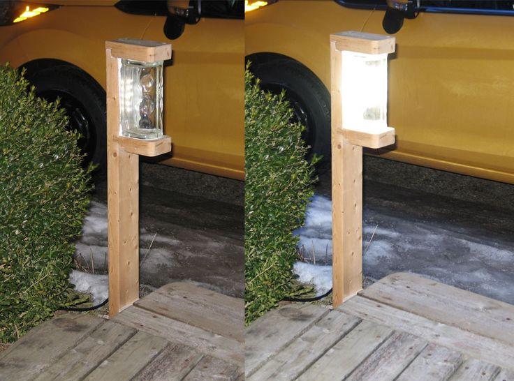 georgesworkshop: a very bright 1 watt diy led garden light