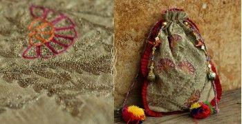 राजसी ~ Hand Embroidered Potli ❦⊰ Firdaus ⊱❦