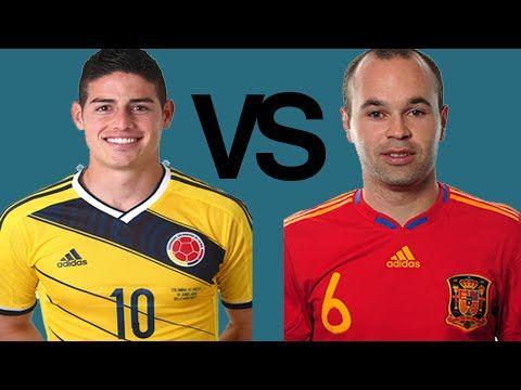 James Rodriguez vs Andres Iniesta ● El Clasico 2014/15 Preview [HD]