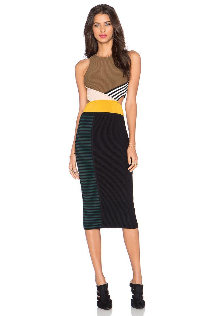 Ronny Kobo Megan Dress in Multi