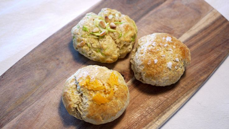 Scones med appelsin eller squash