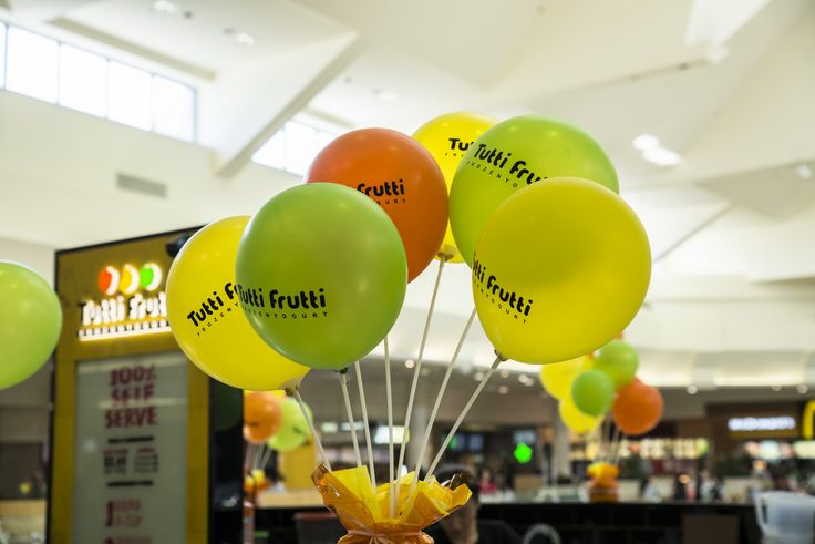 Balloons at Westfield Knox Grand Opening