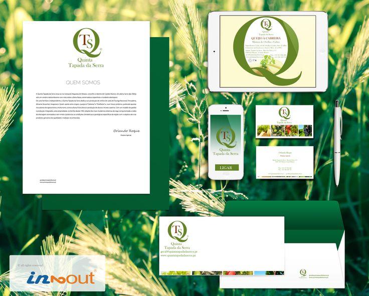 Branding Identity Mock-up #Quintatapadadaserra