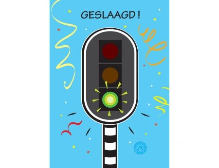 Geslaagd voor het rijbewijs? Dan feliciteer je natuurlijk met een leuke kaart! Vandaag online besteld, morgen door PostNL thuisbezorgd. http://www.kaartjeposten.nl/kaarten/rijbewijs/