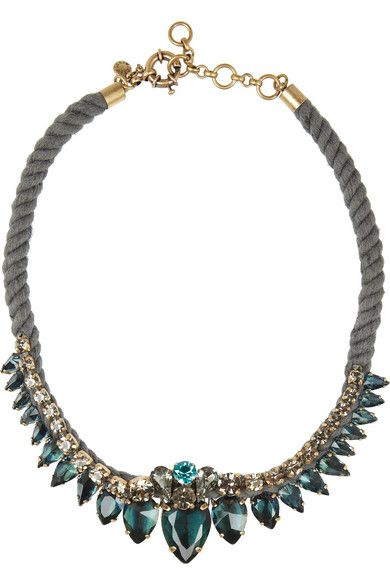 Obsessed with this J.Crew necklace!