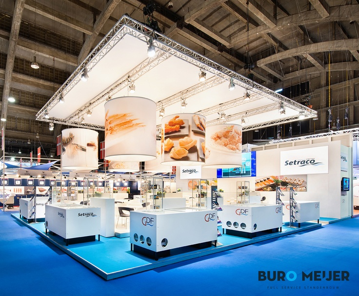 Stand Expo Europa : Exhibition booth setraco european seafood expo
