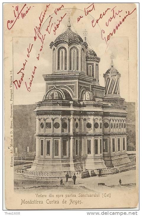 Curtea de Arges - Manastirea - pe la 1905
