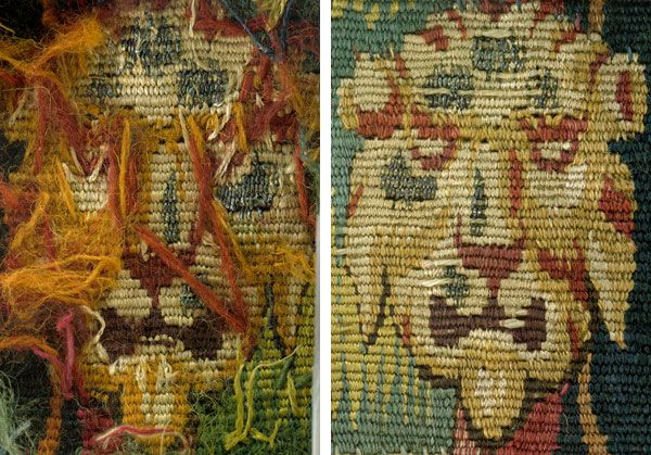 """In this blog post, learn how curators and conservators examine a tapestry. 