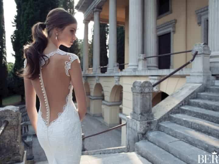 Coiffures de mariée avec queue de cheval