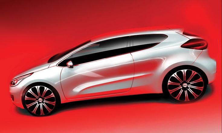 2012 Kia pro cee'd - Design Sketch