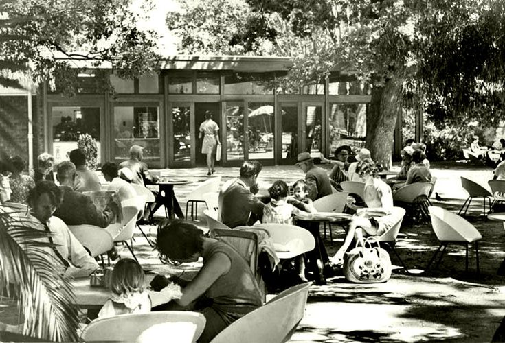 Tearoom in the Company Gardens, 1969. | Flickr - Photo Sharing!