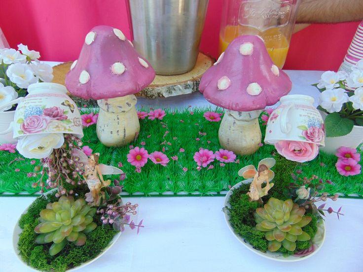 Diy decor fairy party