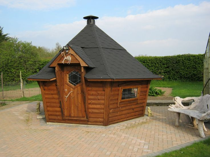 14 best BBQ hut project images on Pinterest | Bbq hut ...