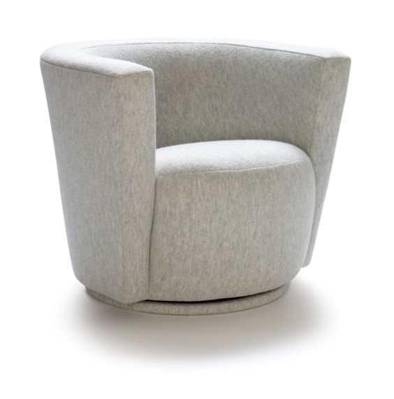 Buy Berkeley Swivel Club Chair By Michael Reeves Associates   Made To Order  Designer Furniture From Dering Hallu0027s Collection Of Mid Century / Modern ...