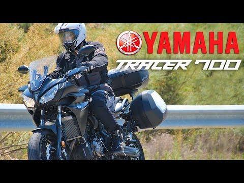 Yamaha Tracer 700 2017 Prueba a fondo / Test / Review - YouTube