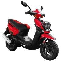 Brand New 50cc MC_H50_BWS 4 Stroke Gas Moped Scooter