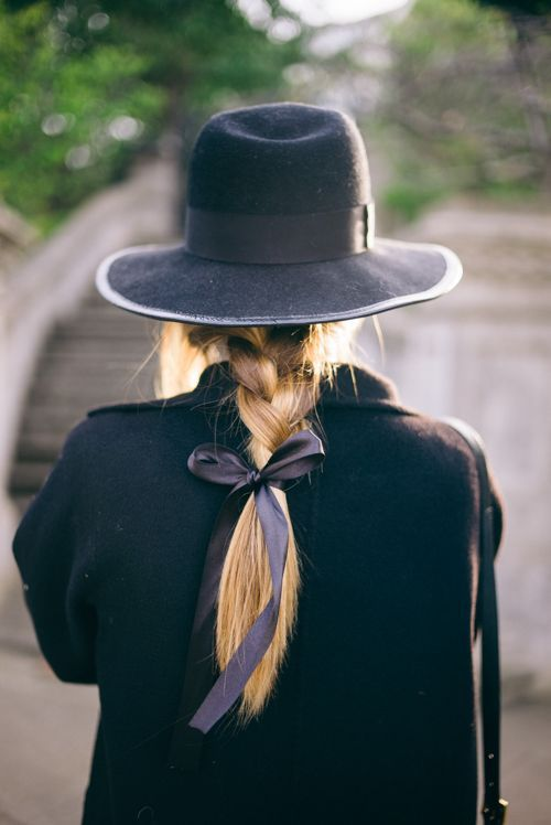 Winterfrisuren: geflochtene Haare
