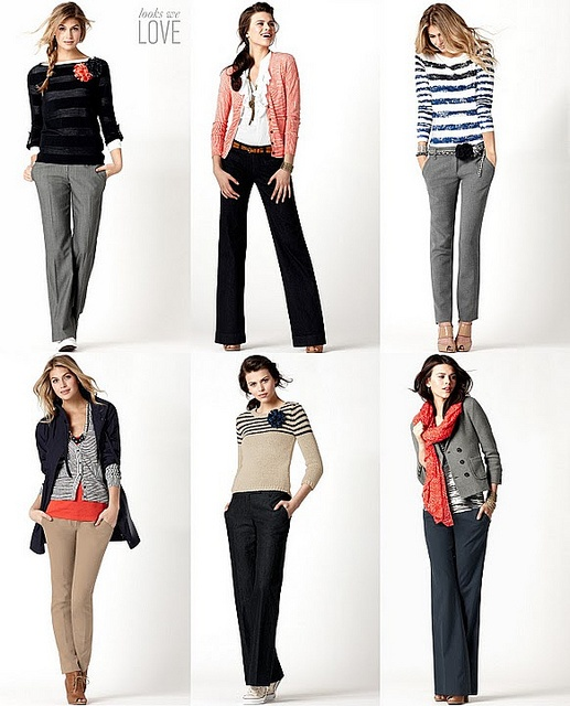 ann taylor loft -- my favorite store. Love these looks and their clothes!