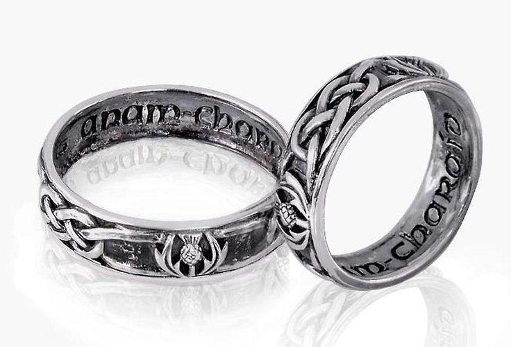 Anillo de bodas de plata celta/compromiso   Anillos   Fruugo España