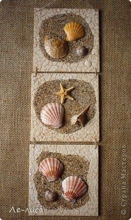 Arena y conchas