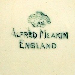 Vintage 1953 Alfred Meakin England china mark