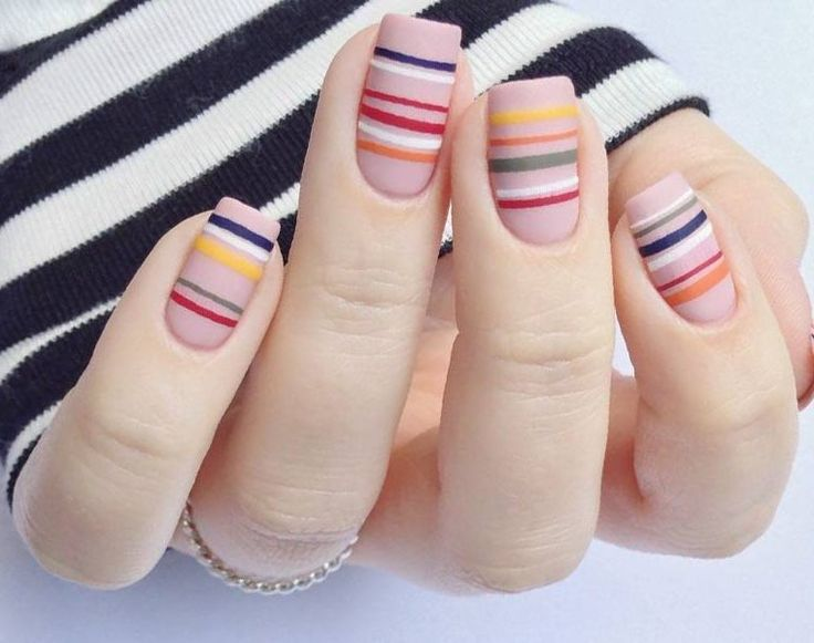 From celebrities, beauty brands and the catwalks. Nail Designs simple and elegant, minimalist nail art is easy to replicate for women of every age.