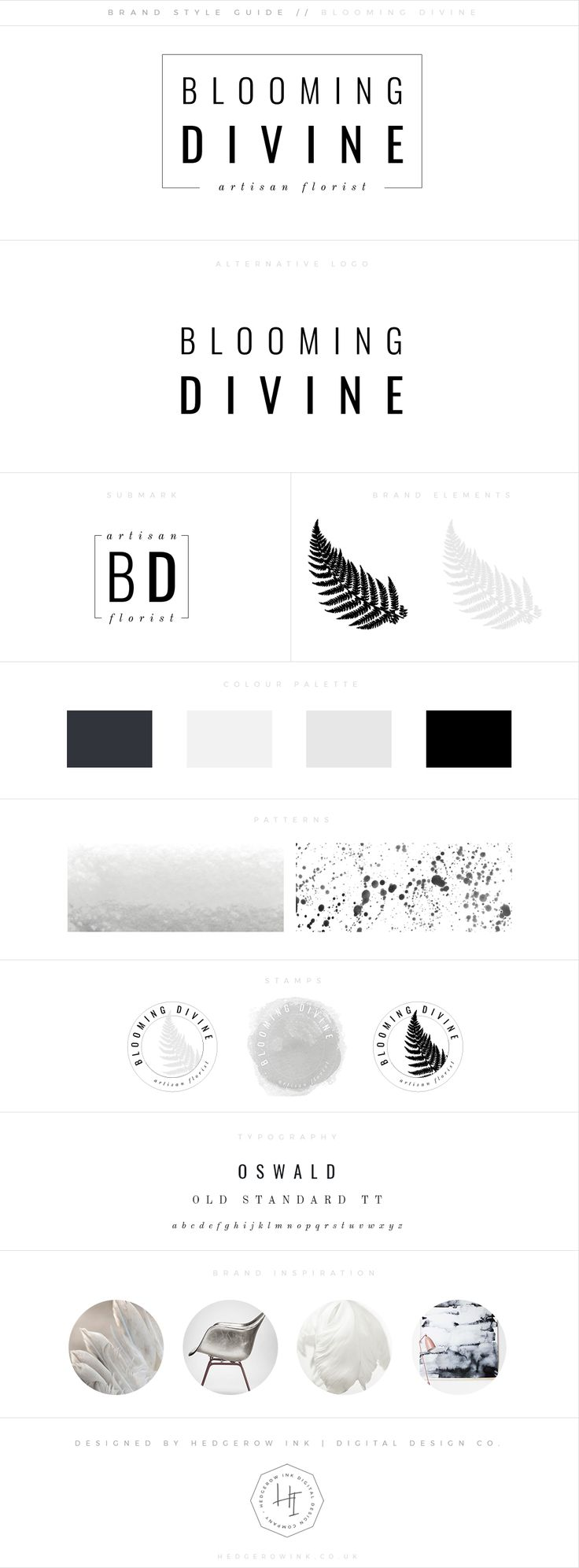 Hedgerow Ink | Digital Design Company | Web design & Branding for Female Entrepreneurs