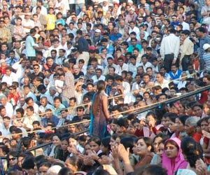 Population in India si around 1.27 billion. There are more man than women. Half of Indian population is under the age of 25.