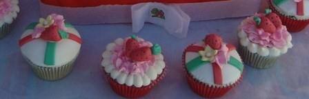 Cupcakes Frutillitas.