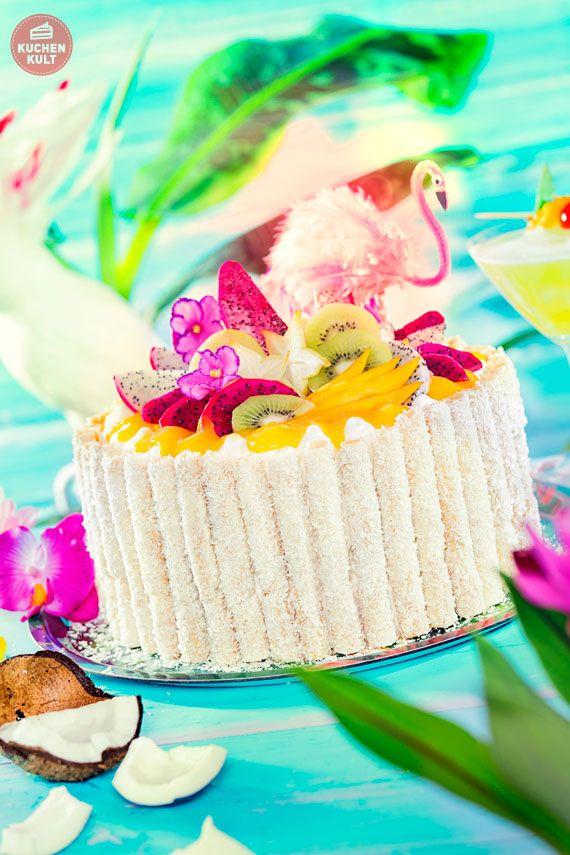Tropical Cakes Tropische Kuchen exotische Kuchen