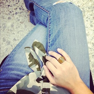 Jeans and camo