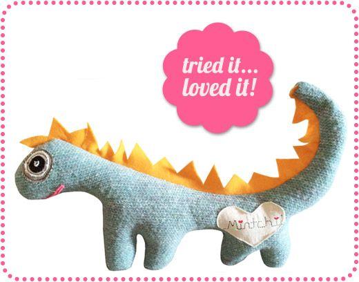 Mintchi handmade toys, dolls, softies, homewares
