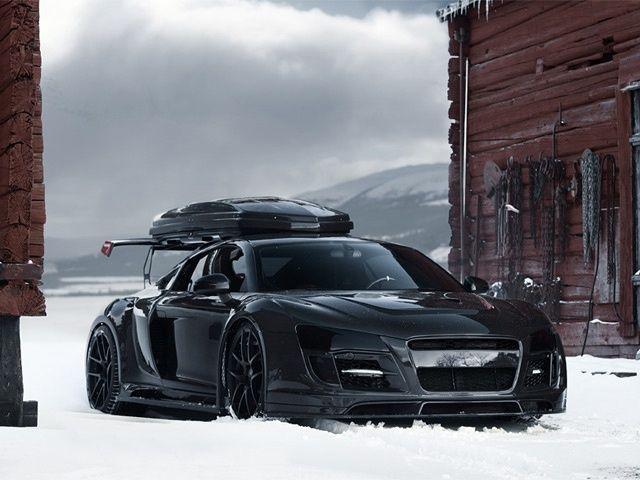 Audi R-8 Snowmobile