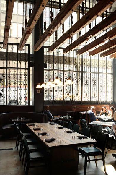 Suspended Wood Trellis Bakery Pinterest Restaurant