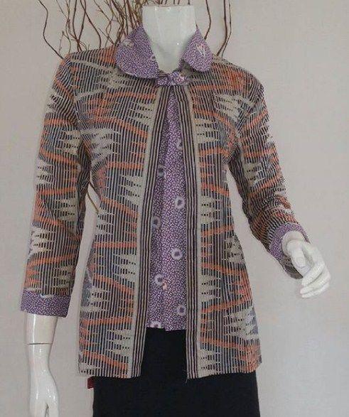 Model Baju Batik Buat Kerja Batik Sarimbit