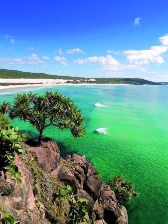Sunshine Coast, #Australia: Spectacular views from Indian Head on Fraser Island