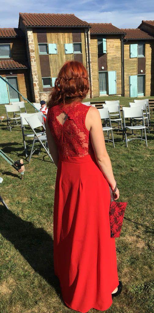 Wedding day : la robe belladone de Deer ans doe Cousu Dodu