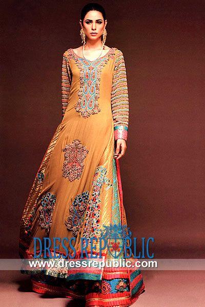 akistani Designer Bridal Lehenga 2014  Occasion wear by Pakistani Fashion Designer by www.dressrepublic.com