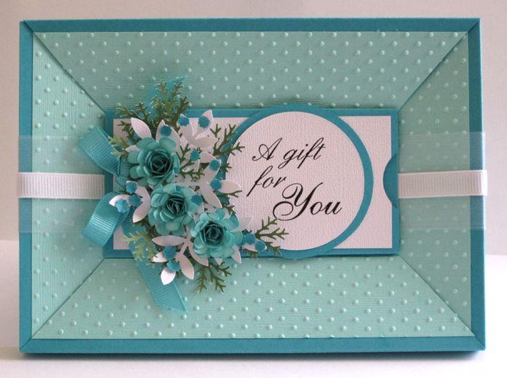 Gem's Cottage Blog » Blog Archive » Framed Gift Card Holder