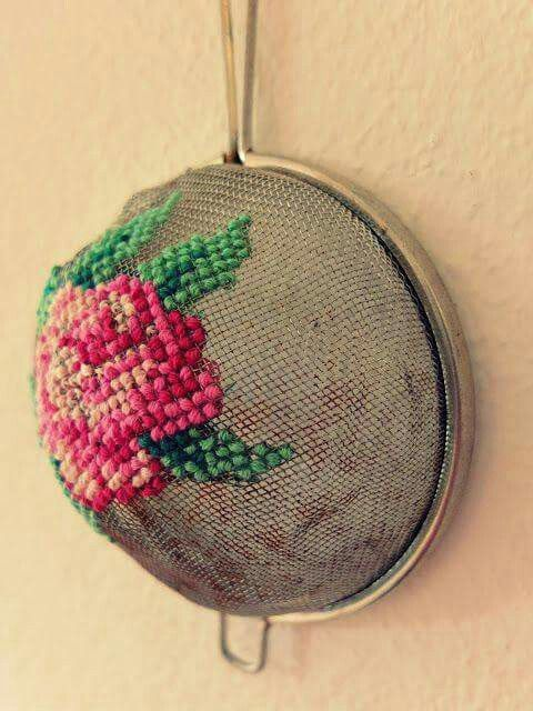 Decorated Sifter