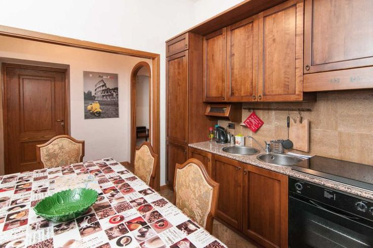 B&B Rome in Art Kitchen