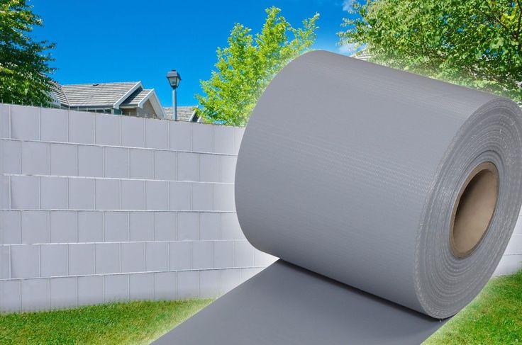 Superb Sichtschutz Zaun Garten PVC Rolle Zaunfolie Doppelstabmatten Windschutz Balkon