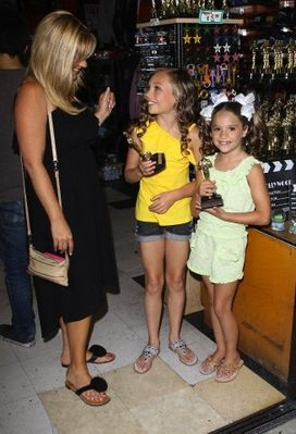 Zieglers Out & About in Hollywood - 2012