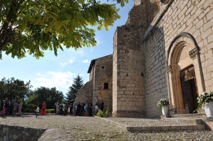 Antica Chiesa. Old Church #wedding #fontecchio #laquila # italy #food #greatbeauty