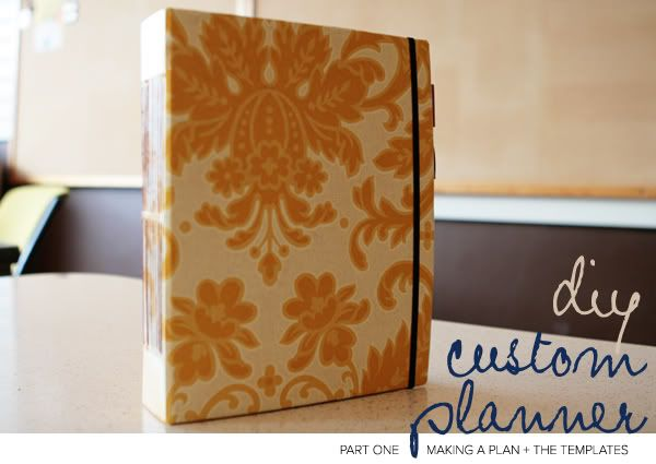 MAKING A CUSTOM DAY PLANNER – PART ONE: MAKING A PLAN (+ TEMPLATE DOWNLOADS!)