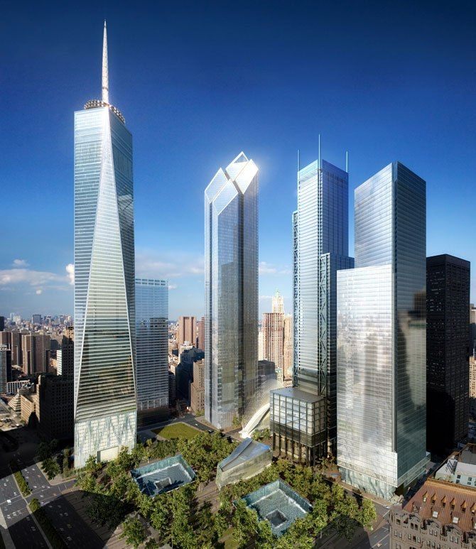 A Look at the New One World Trade Center : Architecture + Design : Architectural Digest