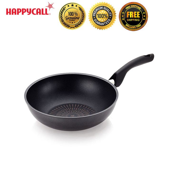 "Happycall Nonstick Plasma Induction Titanium 11"" Best Frying Pan Wok Culinary #Happycall"