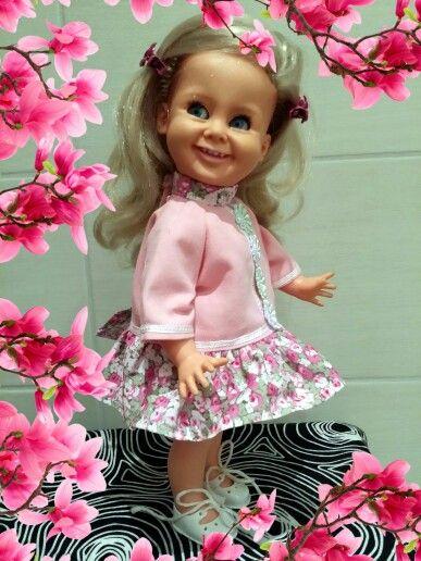 Søte Tjorven fra Ratti Italia kjole sydd av meg :-)
